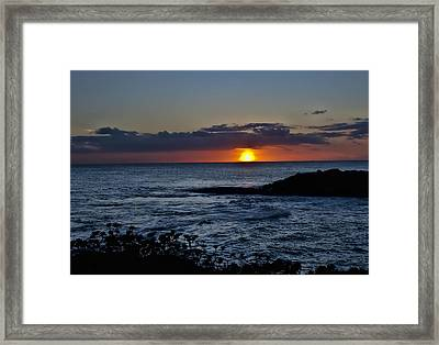 Into The Water Framed Print by Sheri Bartoszek