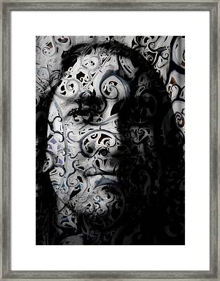 Intrigue Framed Print by Christopher Gaston