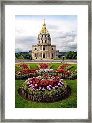 Invalides Paris France Framed Print by Dave Mills