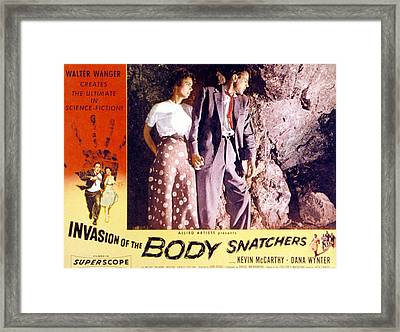 Invasion Of The Body Snatchers, Dana Framed Print by Everett