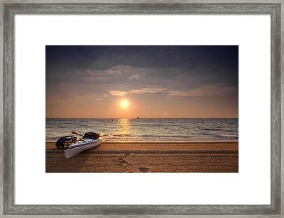 Inviting Framed Print by Edward Kreis
