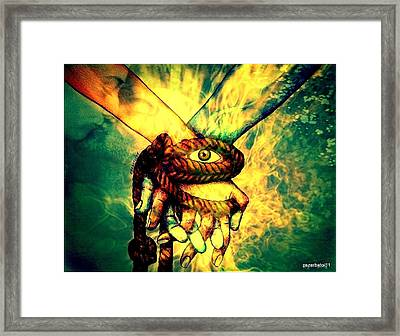 Involvement Common Of The Ideas And Goals Framed Print by Paulo Zerbato