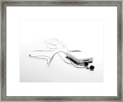 Ipod Framed Print by Tony Mcconnell
