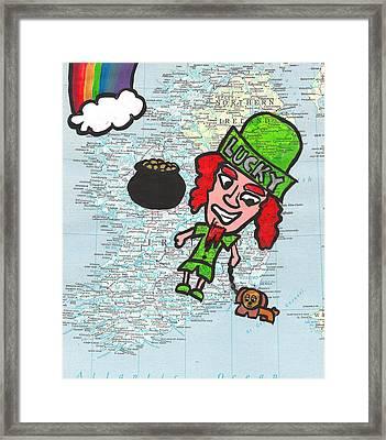 Ireland Framed Print by Jera Sky