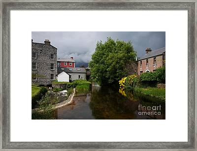 Irish Houses Framed Print by Louise Fahy