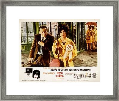 Irma La Douce, Jack Lemmon, Shirley Framed Print by Everett