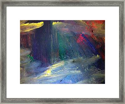 Irresolute Arousal Framed Print by Paula Andrea Pyle