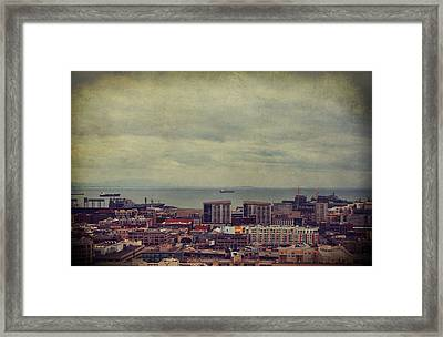 Is Anybody Out There Framed Print by Laurie Search