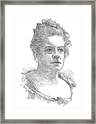 Isabel Florence Hapgood Framed Print by Granger