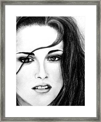Isabella Framed Print by Lena Day