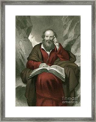 Isaiah, Old Testament Prophet Framed Print by Photo Researchers