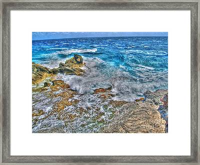 Isla Mujeres Iv Framed Print by Jimmy Ostgard