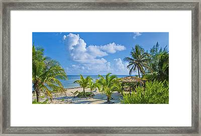 Island Beauty Framed Print by Stephen Anderson