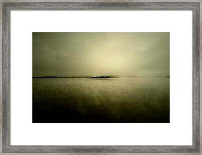Island Of Mystic  Framed Print by JC Photography and Art