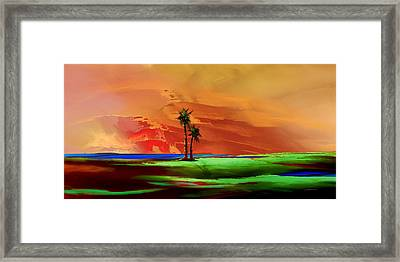 Island Time Framed Print by Wally Boggus