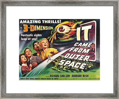 It Came From Outer Space, From Left Framed Print by Everett