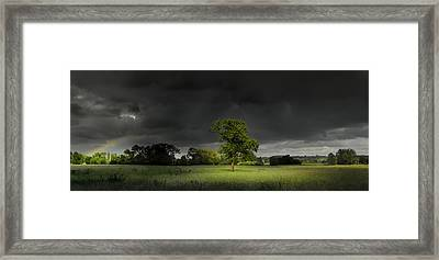 It Can't Rain All The Time Framed Print by John Chivers