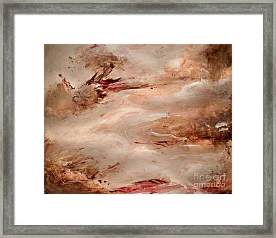 It Never Ends Framed Print by Angelina Cornidez
