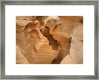 It Started With A Kiss Framed Print by Christine Till