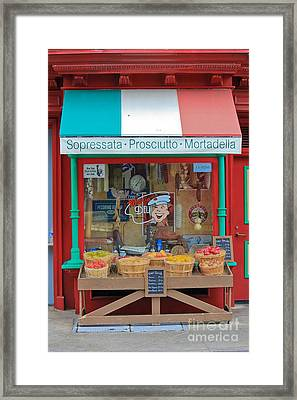 Italian Framed Print by Sophie Vigneault