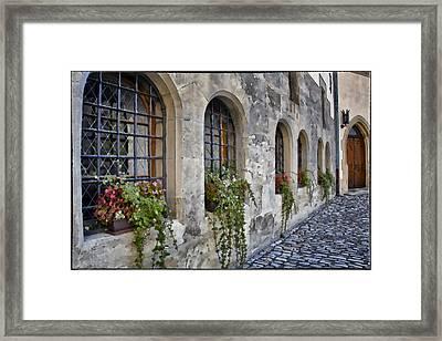 Italian Treasury Framed Print by Joan Carroll