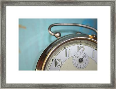 It's Time Framed Print by Georgia Fowler