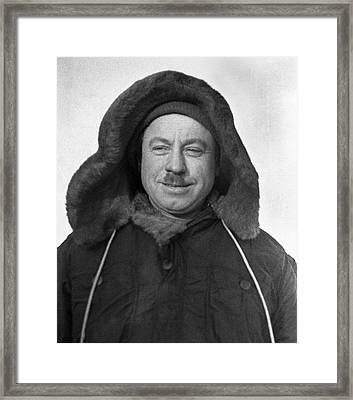Ivan Papanin, Soviet Arctic Explorer Framed Print by Ria Novosti
