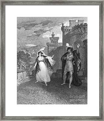 Ivanhoe, 1832 Framed Print by Granger