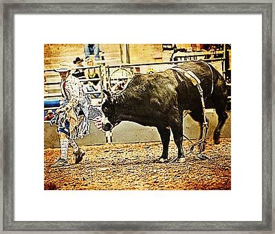 I've Got The Moves Framed Print by Toni Hopper