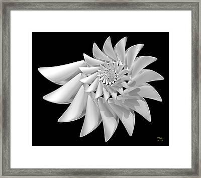Ivory Framed Print by Manny Lorenzo
