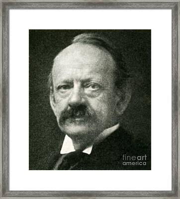 J. J. Thomson, English Physicist Framed Print by Science Source