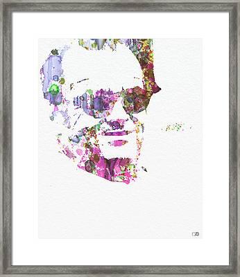 Jack Nicolson 2 Framed Print by Naxart Studio