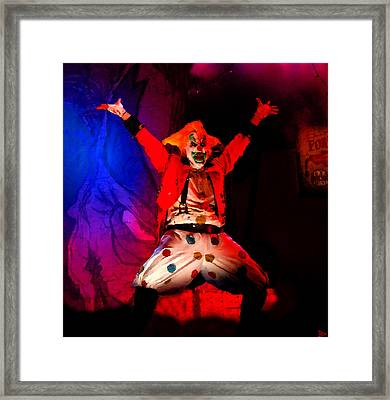 Jack Out Of The Box Framed Print by David Lee Thompson
