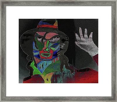 Jacko Framed Print by Karen Elzinga