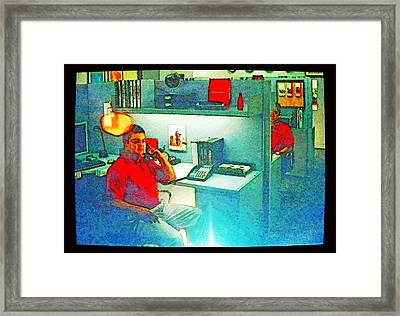 Jake From State Farm Framed Print by Lenore Senior