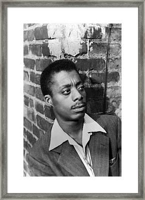 James Baldwin, 1953 Framed Print by Everett