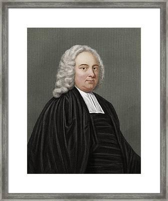 James Bradley, British Astronomer Framed Print by Maria Platt-evans