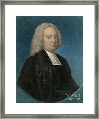 James Bradley, English Astronomer Framed Print by Science Source