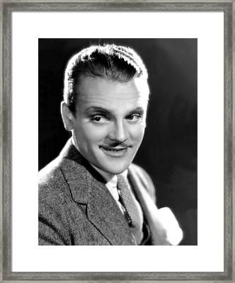 James Cagney, Warner Brothers, 4535 Framed Print by Everett