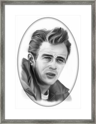 James Dean Framed Print by Erwin Verhoeven