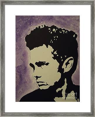 James Dean Framed Print by Nick Mantlo-Coots