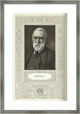 James Douglas, Us Metallurgist Framed Print by Science, Industry & Business Librarynew York Public Library