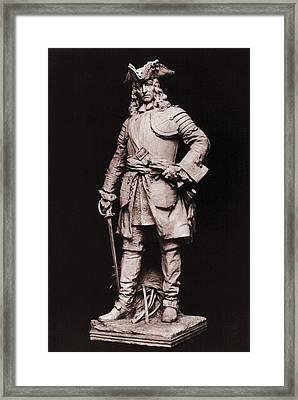 James Edward Oglethorpe 1698-1785 Framed Print by Everett
