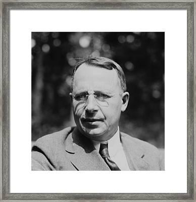 James M. Cox 1870-1957, Newspaper Framed Print by Everett