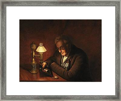 James Peale Framed Print by Charles Willson Peale
