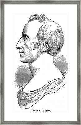James Smithson (1765-1829) Framed Print by Granger