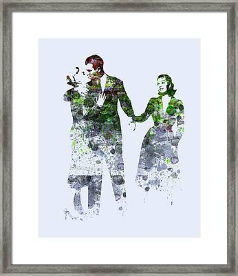 James Stewart Framed Print by Naxart Studio