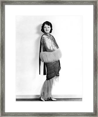 Janet Gaynor, 1929 Framed Print by Everett