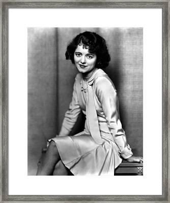 Janet Gaynor, Ca. 1932 Framed Print by Everett