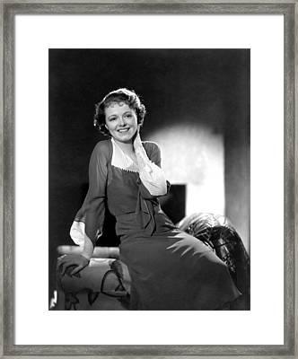 Janet Gaynor, Ca. 1933 Framed Print by Everett